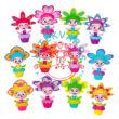 Bloomy Belles virágzó szépségek virágcserép baba 1 db-os többféle változatban