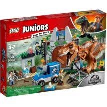 Lego Juniors Jurassic World T-rex kitörés 10758
