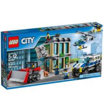 LEGO City Buldózeres betőrés 60140