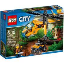 LEGO City Jungle Explorers Dzsungel teherszállító helikopter 60158