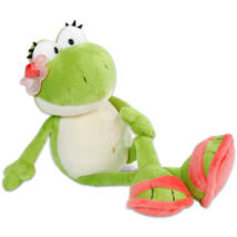 Nici Plüss békalány logó lábú 35 cm