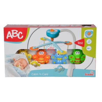 ABC zenélő bébi kiságyforgó