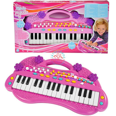 My Music World szintetizátor lányoknak