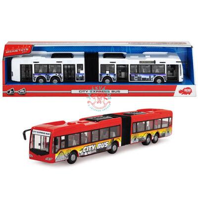 City Express Dickie  Toys csuklós busz 2 féle