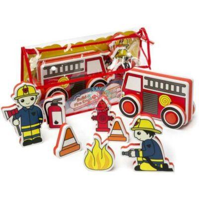 Építs és játssz! Tűzoltó szett habszivacsból