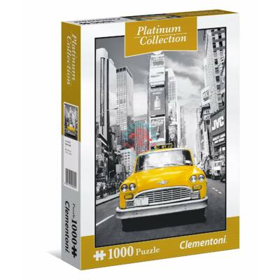 Clementoni 1000 db puzzle  Platinum Collection  New York Taxi