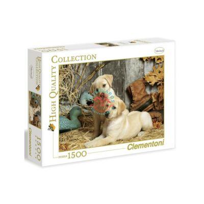 Clementoni 1500 db puzzle Labradorok