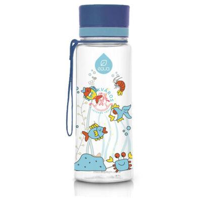 Equa BPA mentes kulacs akvárium kék kupakkal