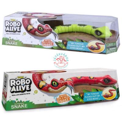 Robo Alive Robot Kígyó csak Piros szinben