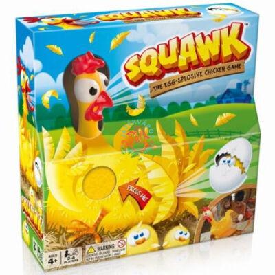 Squawk-kirobbanó tojástojó társasjáték