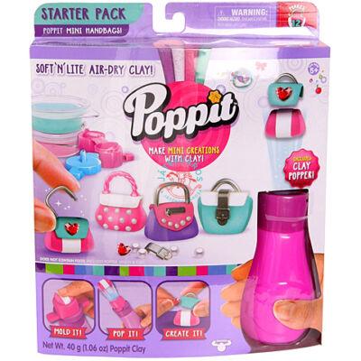Poppit mini táskák kreativ gyurma kezdőszett