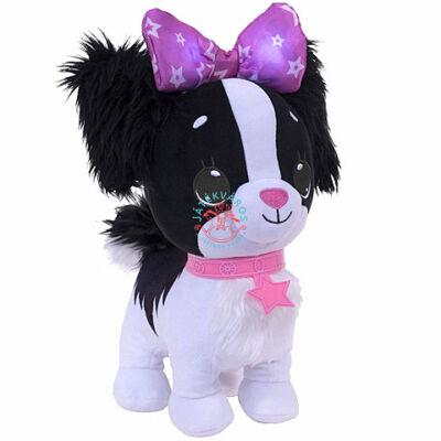 Kívánságpajti Fekete kutyus plüss