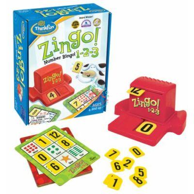 Thinkfun ZINGO 1-2-3 társasjáték