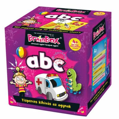 Brainbox ABC memória és kvíz kérdés társasjáték