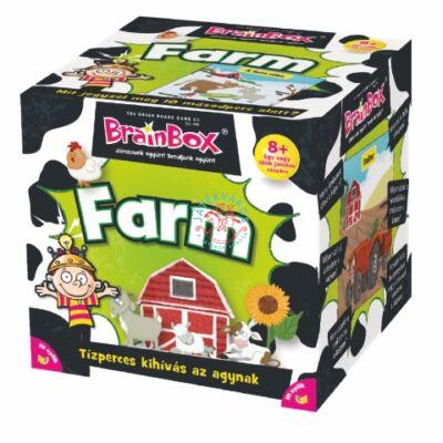 Brainbox farm memória és kvíz kérdés társasjáték