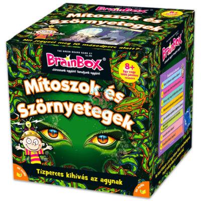 Brainbox Mitoszok és Szőrnyetegek - memória és kvíz kérdések társasjáték