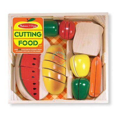 Melissa & Doug Sütés-főzés,fa szeletelhető ételek
