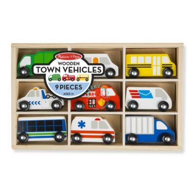 Melissa & Doug Fa jármű Városi autók