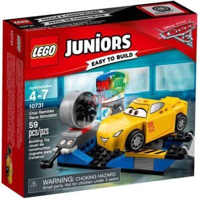 LEGO Juniors Cruz Ramirez versenyszimulátor 10731