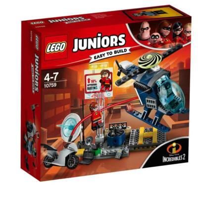 Lego Juniors The Incredibles Nyúlányka üldözése a háztetőn 10759