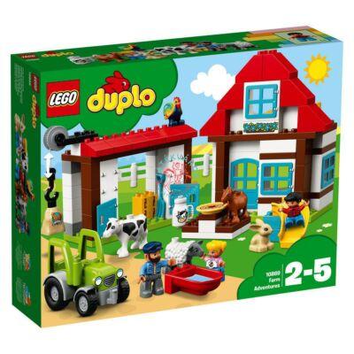 LEGO DUPLO Town Kalandok a farmon 10869