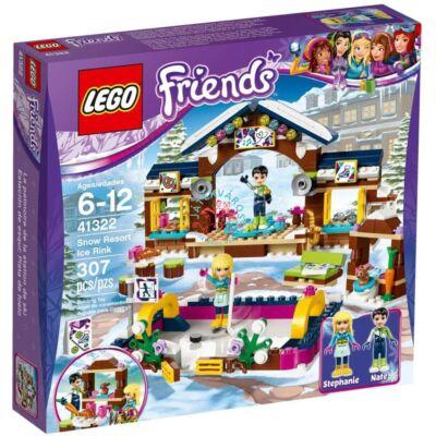 LEGO Friends Jégpálya a havas üdülőhelyen 41322