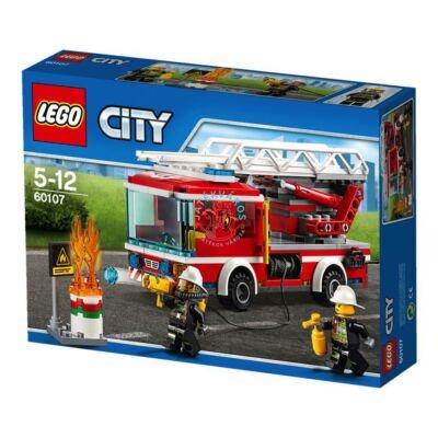 LEGO City Létrás tűzoltóautó 60107