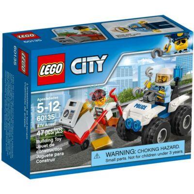 LEGO City Police Letartóztatás ATV járművel 60135
