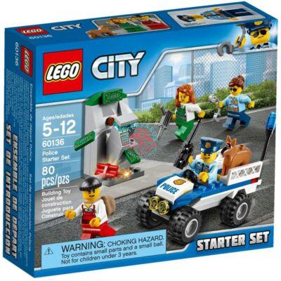 LEGO City Police Rendőrségi kezdőkészlet 60136