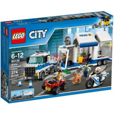 LEGO City Police Mobil rendőrparancsnoki központ 60139