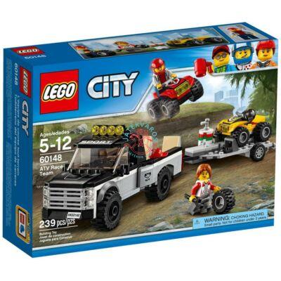 LEGO City Great Vehicles ATV versenycsapat 60148