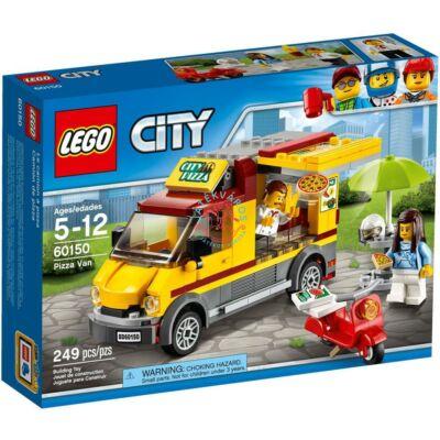 LEGO City Great Vehicles Pizzás furgon 60150