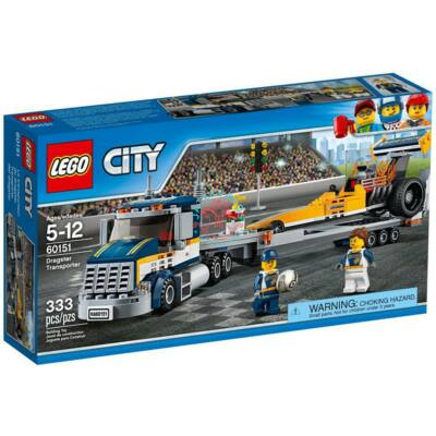 LEGO City Great Vehicles Dragster szállító kamion 60151