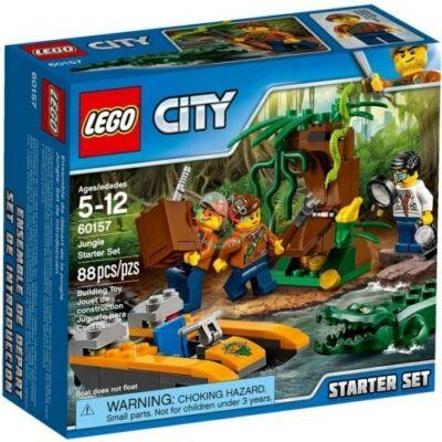 LEGO City Jungle Explorers Dzsungel kezdőkészlet 60157