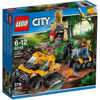 LEGO City Jungle Explorers Dzsungel küldetés félhernyótalpas járművel 60159