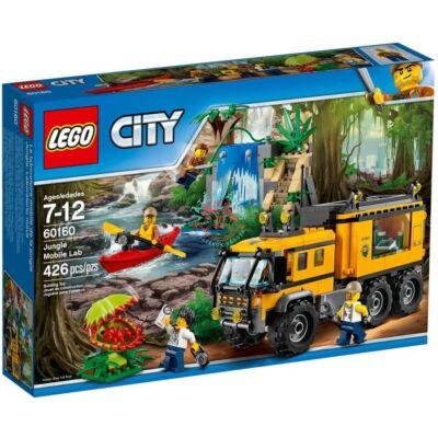 LEGO City Jungle Explorers Dzsungel mozgó labor 60160