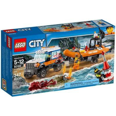 LEGO City Coast Guard 4 x 4 Sürgősségi egység 60165