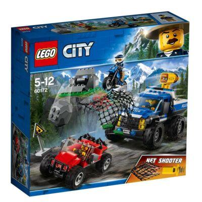 LEGO City Police Üldözés a földúton 60172
