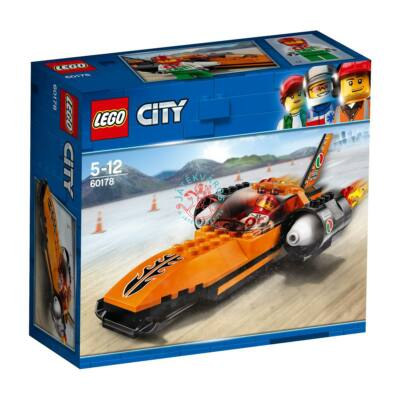 LEGO City Great Vehicles Sebességrekorder autó 60178