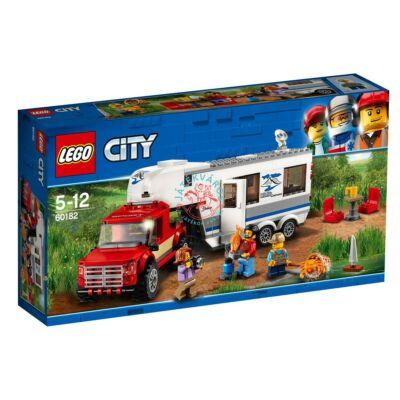 Lego City Furgon és lakókocsi 60182