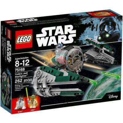 LEGO Star Wars TM Yoda Jedi Starfighter™-e 75168