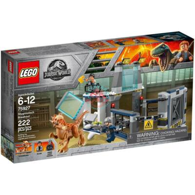 Lego Jurassic World Stygimoloch kitörés 75927