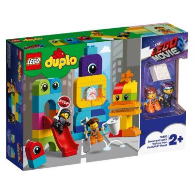 LEGO DUPLO LEGO Movie 2 Emmet és Lucy látogatói a DUPLO® bolygóról 10895