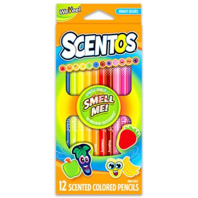 Scentos Illatos színes ceruza 12 db élénk színek