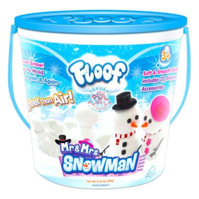 Floof! Hópehely gyurma hóember építő  készlet