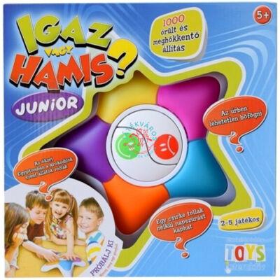 Igaz vagy hamis Junior társasjáték