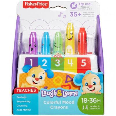 Fisher-Price Kacagj és fejlődj! színes hangulatkréták bébijáték