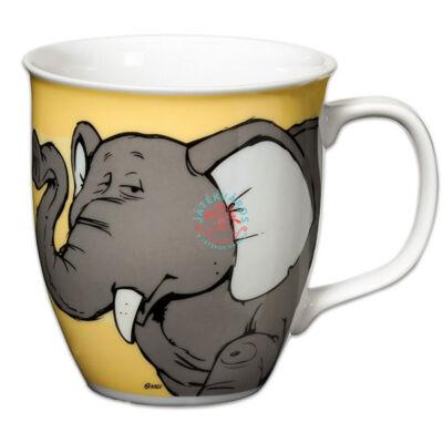 Nici porcelán bögre elefántos