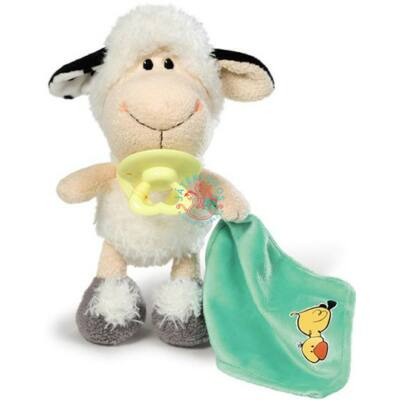Nici Plüss bébi  bárány cumival 20 cm