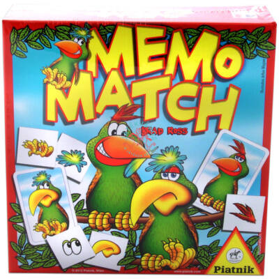 Memo Match memória társasjáték